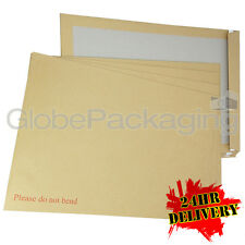 200 x C3 A3 BOARD BACK BACKED ENVELOPES 457x324mm PIP