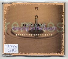 Die Vision Maxi-CD Dancing On The Beach - 4-tr. ddr indie guitar pop parocktikum