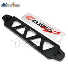 19cm Auto Car Battery Tie Down Bar Universal Black Billet Aluminum Light Weight