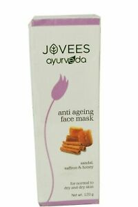 Jovees Ayurveda Anti Ageing Face Mask Sandal, Saffron & Honey 120g
