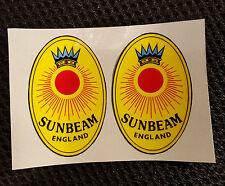 SUNBEAM vintage decals/stickers for kids trike WINKIE etc restoration