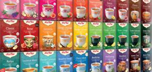 Yogi Ayurvedic Herbal Organic Teas - 17 plastic free teabags