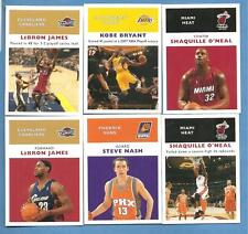 42 different 2007-08 Fleer Basketball 1961 Retro Insert