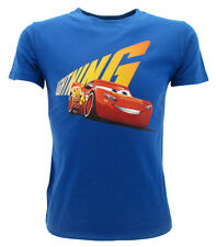 T-Shirt Original Cars 3 Pixar Disney Fermeture Éclair Bleu Royal