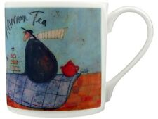 Sam Toft Afternoon Tea Bone China White Mug