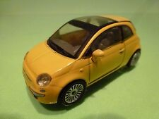 NEW-RAY FIAT 500 - YELLOW 1:43 GOOD CONDITION