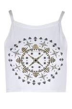 Maglie e camicie da donna bianchi viscosa taglia XS
