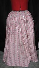 Medieval Renaissance Cosplay Pirate Pink Floral Drawstring Skirt