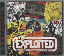 THE EXPLOITED - PUNK SINGLES & RARITIES 1980-83  (still sealed cd) - AHOY CD 160