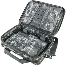 NcSTAR VISM Digital Camo Padded Double Pistol Range Bag Case w/ Shoulder Straps