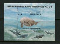 Philippines 2543 MNH S/S Dugong 1998 CV$4.50
