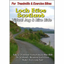 Loch Etive Scotland Cycling Scenery Bike DVD Jogging Exercise Fitness Video