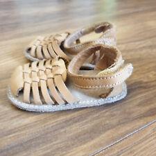 Baby Girls NEXT Leather Sandals Size UK 0