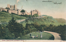 PC68896 Dover Castle from Connaught Park. JWS 581. 1904