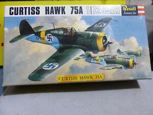 REVELL -CURTISS Hawk 75A - Caccia tedesco Luftwaffe -1:72-Perfetto in box -