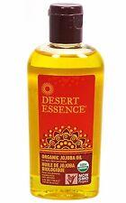 Desert Essence Organic Jojoba Oil for Hair Skin & Scalp 4 oz