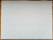 Dollhouse Miniature Ceiling Paper Embossed Textured Foam Board 1:12 Scale 34946