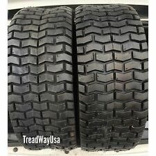 (2) 13x5.00-6 Deestone Lawn Turf Tires 4 Ply Heavy Duty Mower Tractor Tires