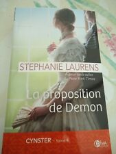 STEPHANIE LAURENS - CYNSTER 4 - LA PROPOSITION DE DEMON - DIVA