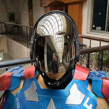 Robots Cop Murphy Helmet Costume DJ MC Fancy Dress Party Mask Club Nightclub