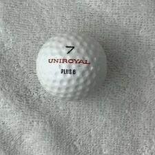 Vintage Mint 1.62Uniroyal Royal Plus 6 No.7 Hexagon Golf Ball