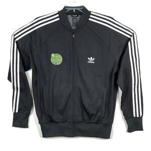VTG Seattle Supersonics Sonics MTN DEW Adidas Warm Up Jacket Full Zip Mens L