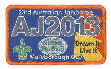 AJ2013 - AUSTRALIA SCOUT NATIONAL JAMBOREE - INTERNATIONAL CENTRE SCOUTS BADGE