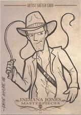 "Indiana Jones Masterpieces - Katie McDee ""Indy & Whip"" Sketch Card"