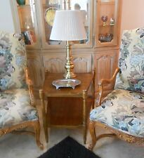 Antique Style, Heritage, Fine furniture, Side Table, Gorgeous Walnut Wood.