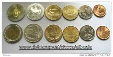 Albanien  Albania  alle Umlauf Münzen Leke KM#75-76-77-78-79-80  UNC