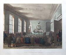 Sociedad de la agricultura, Ackermann, microcosmos de Londres antiguo de impresión de 1808