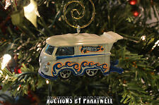 Custom Volkswagen Vanagon T2 Bus Christmas Ornament VW Van 1/64 Samba Camper Bug