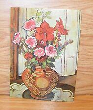"""Precious Miniatures Suzanne Valadon """"Floral"""" Mini Picture **READ**"""