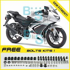 White Fairings + Tank Cover Fit Kawasaki Ninja 250R EX250 2009 2008-2012 02 A2