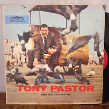 Let's Dance with Tony Pastor and his Orchestra LP Forum deep groove jazz VG+