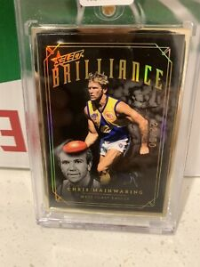 2020 Select Brilliance Chris Mainwaring West Coast Eagles #22/50