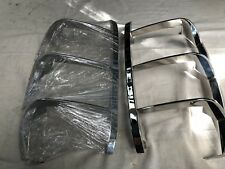 GM CADILLAC ESCALADE 2000 -06. CHROME METAL TAIL LIGHT GUARDS. LEFT & RIGHT HAND