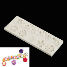 Flowers silicone fondant molds cake decorating tools chocolate gumpaste mold ESU