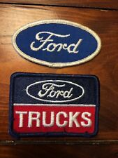 Vintage Ford patches.  Free North American Shipping