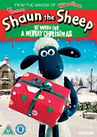 Shaun The Sheep - We Wish Ewe A Merry Christmas [DVD] [2018][Region 2]