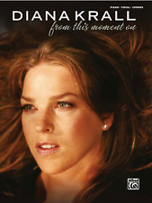 """DIANA KRALL-FROM THIS MOMENT ON"" PIANO/VOCAL/GUITAR CHORDS MUSIC BOOK-NEW SALE!"