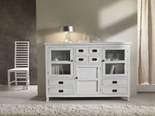 BUFFET CREDENZA BIANCA SHABBY CHIC PROVENZALE COLONIALE ETNICA VINTAGE Offerta