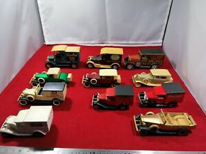 Vintage toy cars bundle 11 cars in good condition