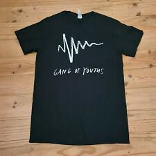 OFFICIAL Gang of Youths black band t-shirt unisex size Small
