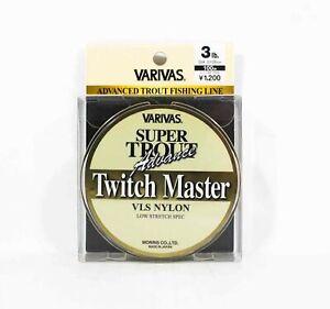 Varivas Super Trout Advance Twitch Master Nylon Line 100m 3lb (5498)