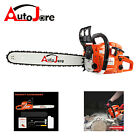 20''(inch) 52cc Chainsaw Chain Saw Aluminum Crankcase Powered gas Handed Petrol