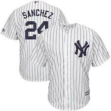 Men's New York Yankees Gary Sanchez Majestic White  Stars & Stripe SCOOL BASE-XL