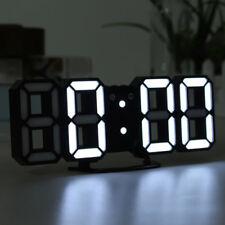 Reloj Digital práctica Mesa Mesa De Noche Pared Reloj Alarma De LED de Pantalla de 24/12 horas
