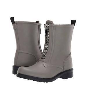 FRYE Women's Sz 9 Storm Gray Zip Rain Bootie Boot NEW