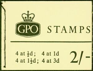 GB 1965 April 2s Wilding Booklet SGN20 Fine & Complete